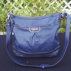 Coach Blur Leather Crossbody Bag